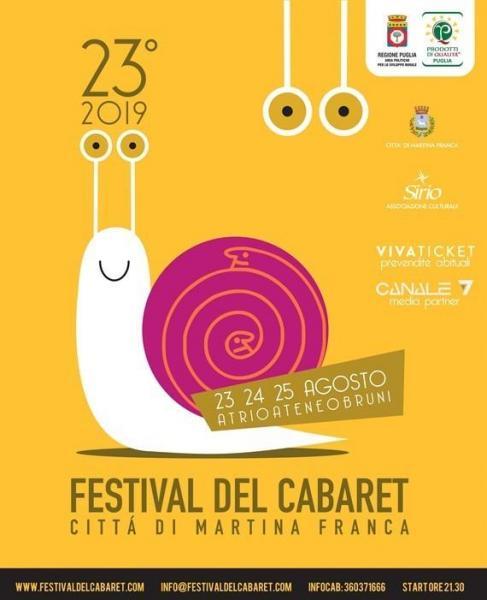 Tre giorni, trenta artisti, torna il Festival del Cabaret di Martina Franca