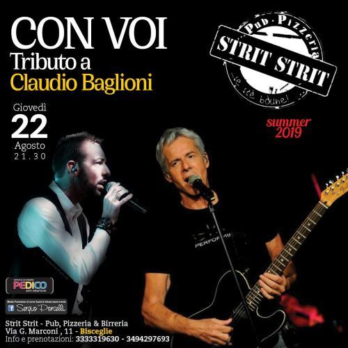 Con Voi - Tributo a Claudio Baglioni a Bisceglie