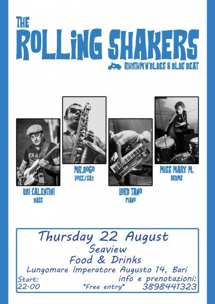 The Rolling Shakers live show