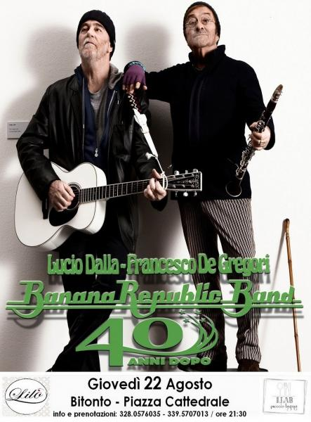 BananaRepublicBand / Omaggio a Dalla & De Gregori
