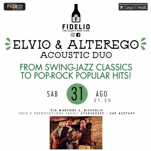 Elvio & AlterEgo Acoustic Duo live a Bisceglie