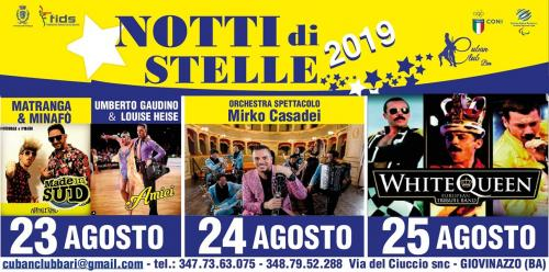 """Torna """"Ballando con le Stelle... live in Giovinazzo"""""""