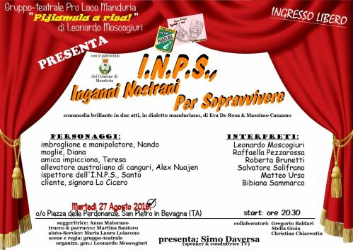 I.N.P.S., Inganni Nostrani Per Sopravvivere
