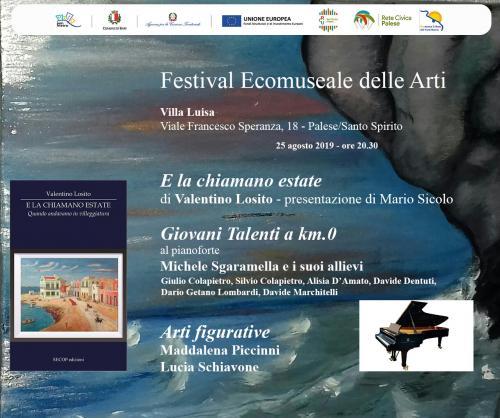 Giovani talenti a km.0 al Festival Ecomuseale delle Arti