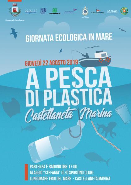 """""""A pesca di plastica"""", giornata ecologica in mare"""