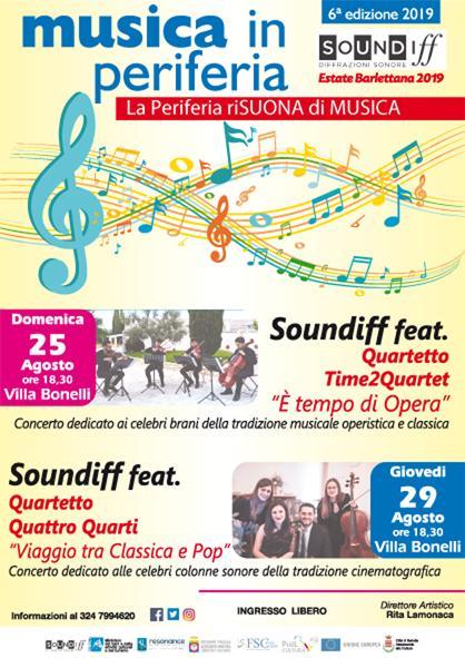 """Al via la 6° edizione di """"Musica in Periferia"""""""