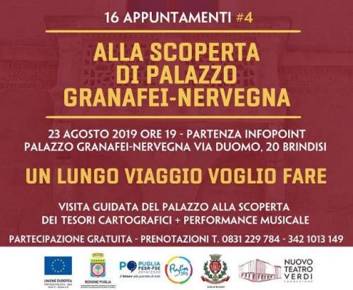 Palazzo Granafei-Nervegna si apre alle visite