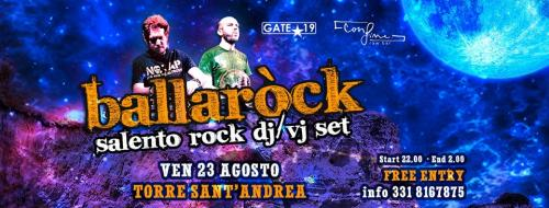 BALLAROCK - ULTIMA TAPPA ESTATE 2019