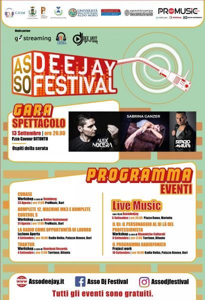 Asso dj festival 2019: un mese di workshop e concerti dedicati ai dj