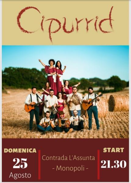 Festa dell'Assunta- CIPURRID in concerto