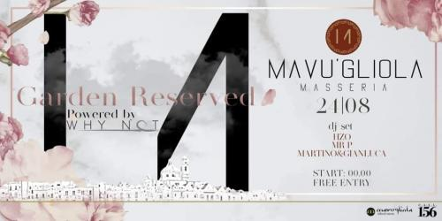 Mavùgliola Garden Reserved Party