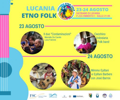 Torna il Lucania Etno-Folk