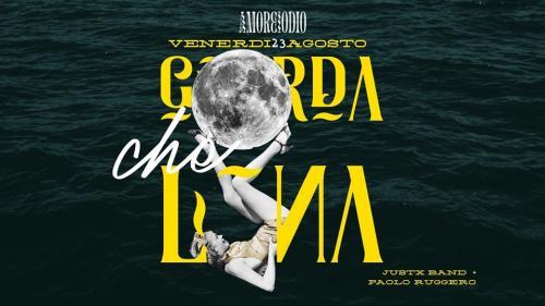 GUARDA CHE LUNA - JUSTX live concert AMOREIODIO GIOVINAZZO
