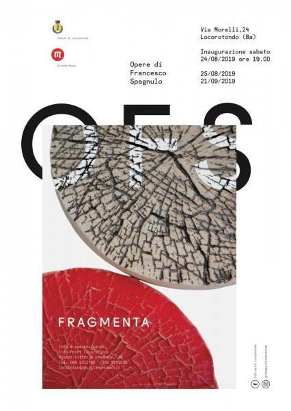 Fragmenta, Opere di Francesco Spagnulo