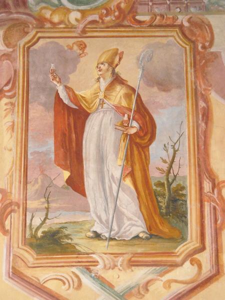 Data liturgica di San Gennaro nella Cappella dei Duchi Caracciolo