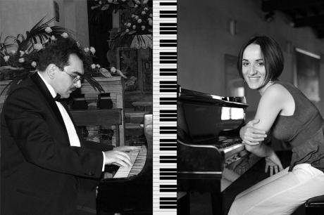 GIORDANO & VALANZUOLO piano four-hands