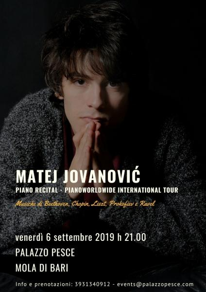 Matej Jovanović [International Piano Recital]