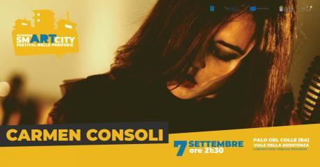 Carmen Consoli in concerto a Rigenera SmART City Festival delle periferie