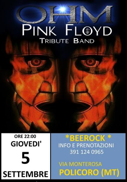 OHM PINK FLOYD LIVE - Policoro