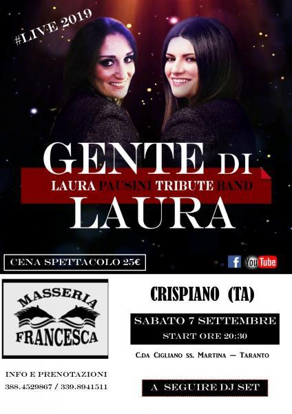 Cena spettacolo del Sabato In Masseria Francesca a Crispiano