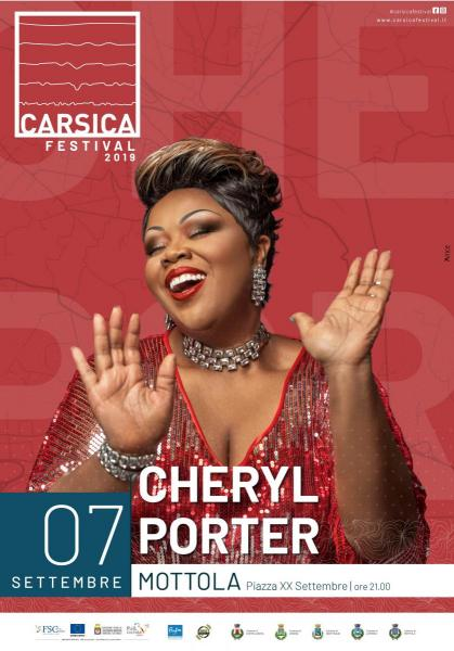 Cheryl Porter chiude il Carsica Festival
