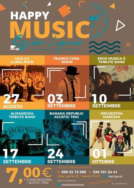 Happy Music - Musica è - Ramazzotti Tribute Band