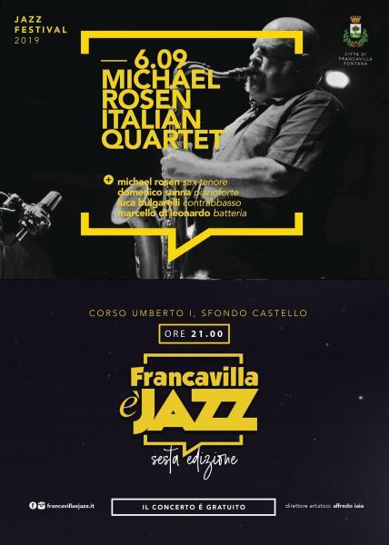 Michael Rosen Italian Quartet in concerto