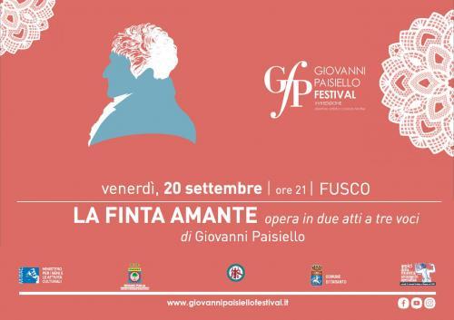 LA FINTA AMANTE opera comica in due atti per musica di Giovanni Paisiello