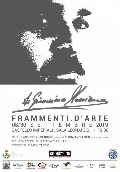 """Massimo de Gironimo """"FRAMMENTI D'ARTE"""""""