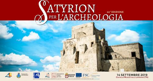 SATYRION  Per L'ARCHEOLOGIA  XX edizione