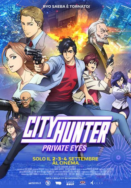 CITY HUNTER. PRIVATE EYES Il film lunedì 2, martedì 3 e mercoledì 4 settembre in esclusiva al VIGNOLA