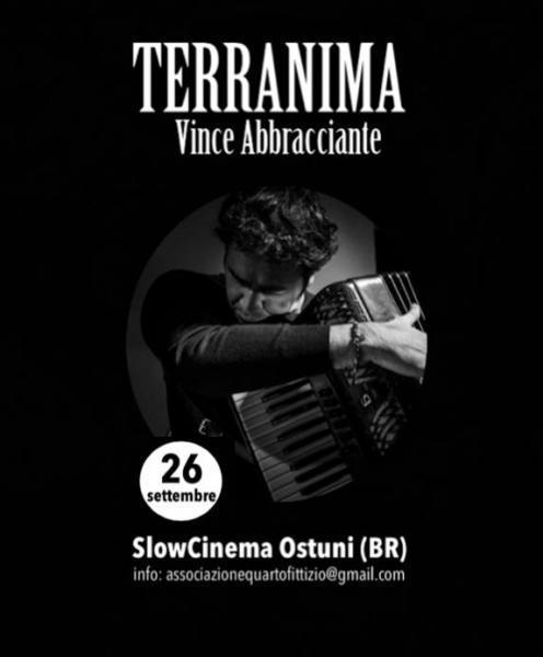 "Vince Abbracciante presenta ""TERRANIMA"""