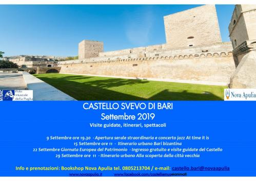 Settembre al Castello Svevo di Bari