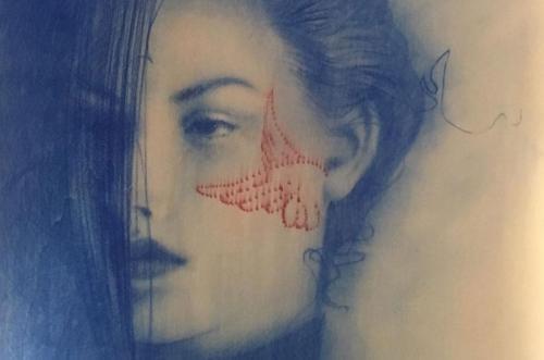 """""""Sguardi"""" mostra personale di Omar Galliani"""