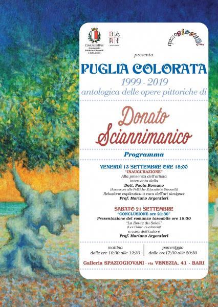 PUGLIA COLORATA 1999-2019 antologica delle opere di Sciannimanico