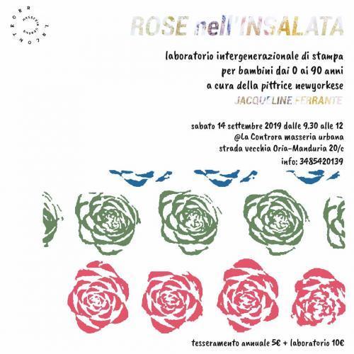 Rose nell'insalata: laboratorio di stampa bilingue