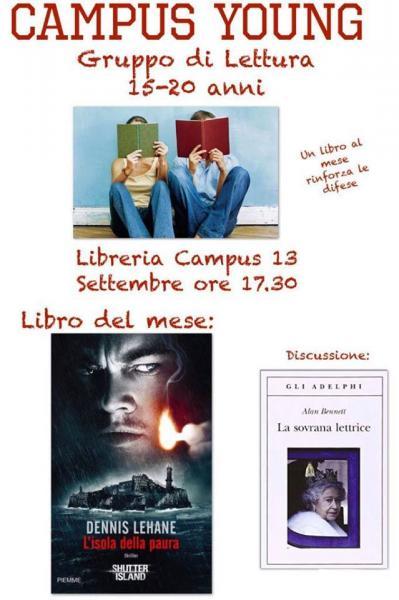Gruppo di Lettura Campus Young 15-20
