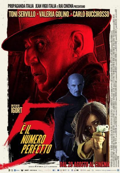 5 È IL NUMERO PERFETTO dal 76° festival di Venezia in esclusiva al cinema all'aperto Arena Vignola