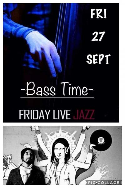 Frida Live Jazz- Bass Time+ Cristian Palmy Dj