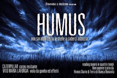 Humus  - reading sonoro in quattro tempi