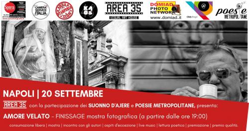 Amore Velato: Finissage mostra con Live Music 'n Poetry