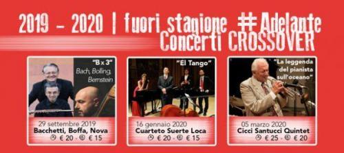 Andrea Bacchetti, Giorgio Boffa, Giuseppe Nova per Nel Gioco del Jazz