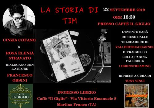 Incontro con l'autore Francesco Orsini