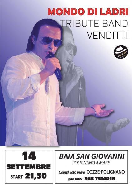 Mondo di ladri  tribute band Venditti live@Baia San Giovanni - Polignano a Mare