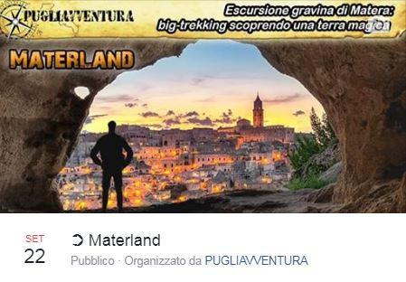 MATERLAND – BigTrekking spettacolare per gli esploratori del bello
