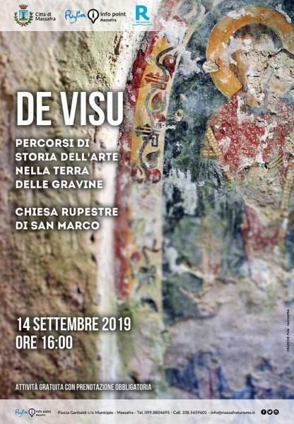 De Visu - Percorsi di Storia dell'Arte nella Terra delle Gravine