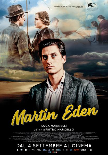 MARTIN EDEN - Una libera trasposizione dal romanzo di Jack London ambientato in una città portuale ideale alla fine del secolo scorso. Il film è stato premiato al Festival di Venezia