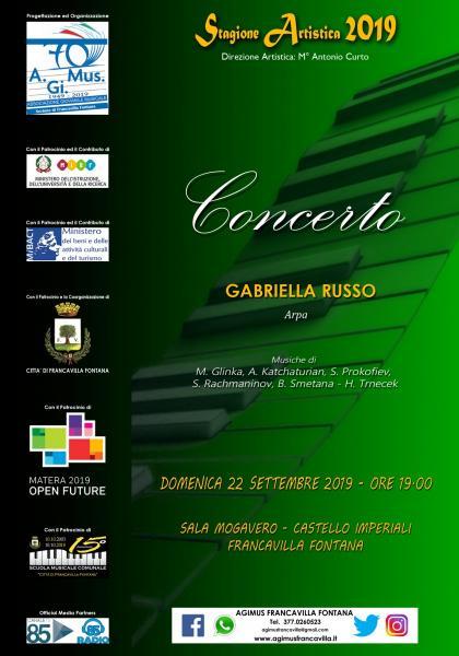 Concerto per Arpa - GABRIELLA RUSSO