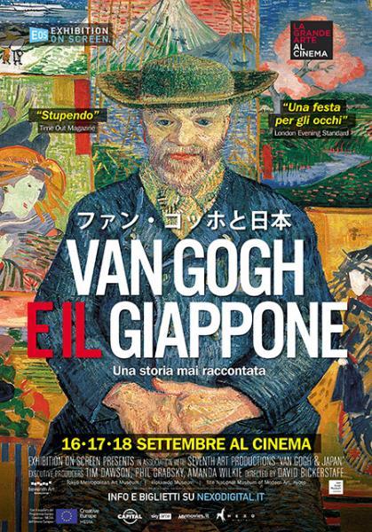 VAN GOGH E IL GIAPPONE La nuova stagione della Grande Arte al Cinema debutta con un nuovo docufilm sulla folgorazione di Vincent Van Gogh per l'Arte giapponese