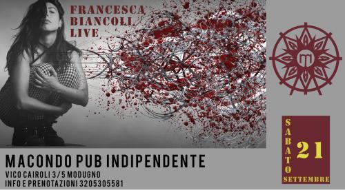 Francesca Biancoli Live